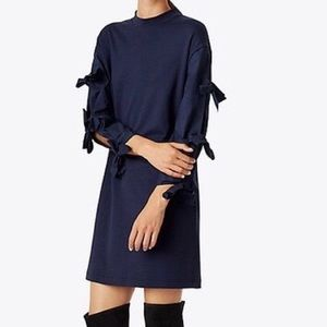 TORY BURCH EMILIA DRESS ~ TIE SLEEVES